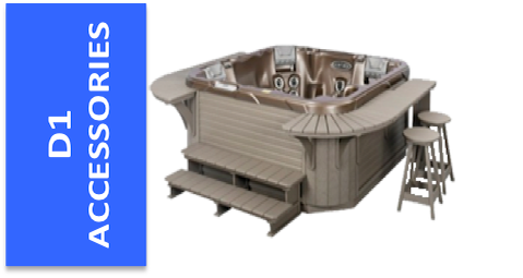 A&B Accessories for Dimension 1 Hot Tubs